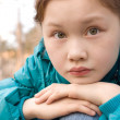 Thoughtful girl — Stock Photo