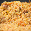 Uzbek pilau — Stock Photo