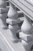 Fragment av sten räcke — Stockfoto