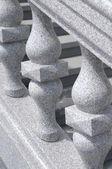 Fragment van stenen leuning — Stockfoto