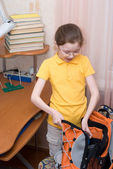 Getting ready for school — Stock Photo
