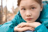 Thoughtful girl — Stock Photo