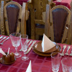 Restaurant setting — Stock Photo #1521028