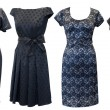 Stock Photo: Black dresses set