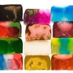Set of handicraft soap bars — Stock Photo #1761166
