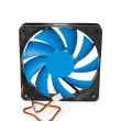 Fan for CPU cooler — Stock Photo