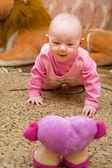 Baby is happy — Stock Photo