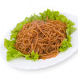 Stock Photo: Chinese food. Starch noodles