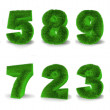 Royalty-Free Stock Photo: Numbers from grace