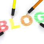 Pencils depicting text blog — Stock Photo #1406545