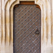 Vintage aged background old door — Stock Photo