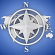 compass rose — Photo