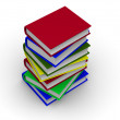 pile of books — Stock Photo #1410349