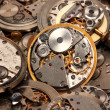 Foto Stock: Watch mechanism