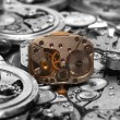 Watch mechanism — Stock Photo #1411883