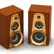 Royalty-Free Stock Photo: Great loud speakers