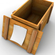 Crate — Stock Photo