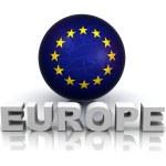 Symbol of Europe — Stock Photo