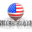 Stock Photo: Symbol of USA