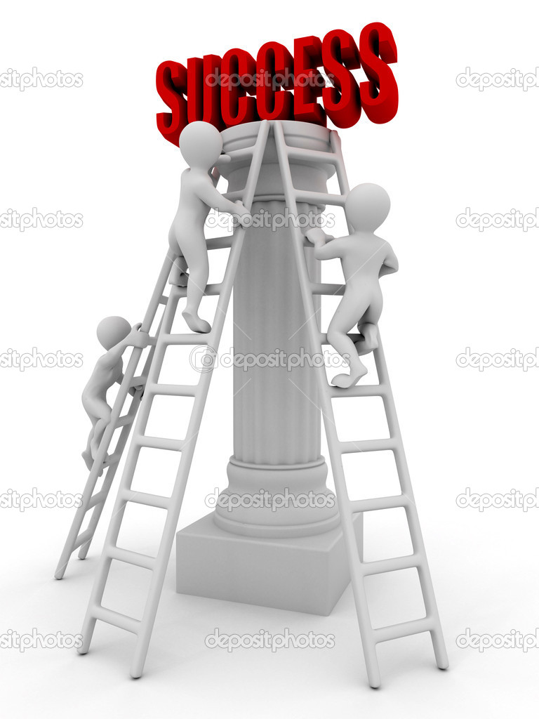 Success. 3d  Stock Photo #1412988