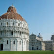 Cathedral and Leaning tower of Pisa. — Stock Photo #1571245