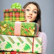 Royalty-Free Stock Photo: Christmas purchasing