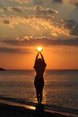 Cuidar de mi sol — Foto de Stock