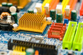 Close-up photo of view of system board — Stock Photo
