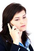 Woman on Phone — Stock Photo