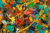 Abstracted paint splatter background — Stock Photo