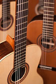 Classical acoustic guitar — Stock Photo