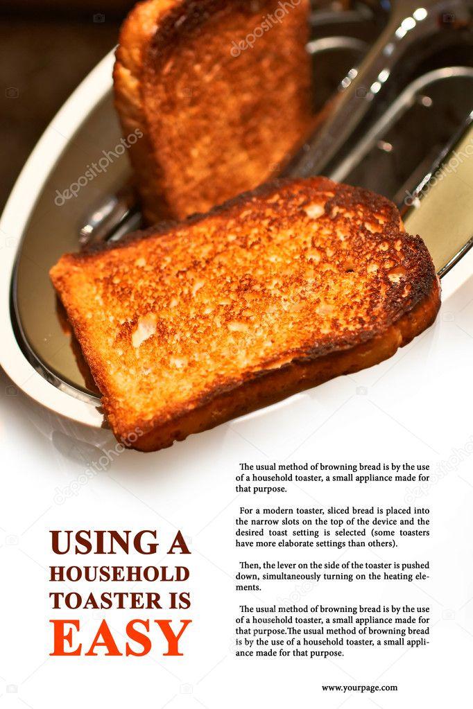 Как сделать тосты в тостере фото