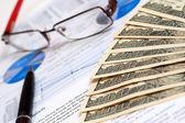 Financieel verslag — Stockfoto