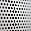 Royalty-Free Stock Photo: Silver-steel mesh background.