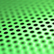 Stock Photo: Green-steel mesh background.