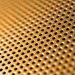 Stock Photo: Orange-steel mesh background.