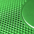 Royalty-Free Stock Photo: Green-steel mesh background