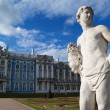 Sculpture in front of Catherine Palace — Stock Photo