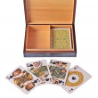 Playing Cards With Box — Stock Photo #1469333