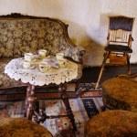 Castle Interior - Around The Table — Stock Photo