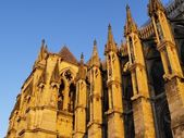 Cathedral in Reims — Stock Photo