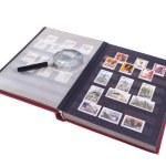 Stamp Album Isolated — Stock Photo