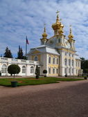 Church in Peterhof, Russia — Stock Photo