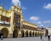 Sukiennice - Cracow Old Town — Stock Photo