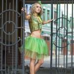 Fashionable woman like a doll — Stock Photo #1405462