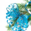 Christmas decoration on a fir-tree — Stock Photo #1406419