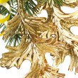 Stockfoto: Christmas decoration on a fir-tree