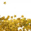 Celebration stars on white background - Stockfoto