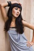 Beautiful fashionable woman — Stock Photo