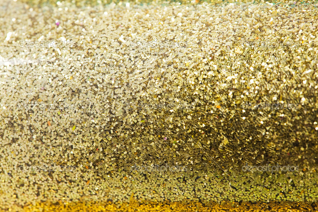 Glitter sparkles dust on background — Stock Photo ...